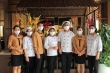 Mường Thanh Grand Tuyên Quang sản xuất khẩu trang cung cấp cho nhân viên