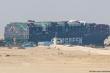 Tàu hàng mắc kẹt ở kênh đào Suez: Đã dịch chuyển nhưng chưa nổi