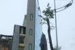 Hình ảnh nhà siêu mỏng, siêu méo trên đường nghìn tỷ mới mở ở Hà Nội