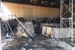 Quán bar đang thi công bất ngờ bốc cháy sau tiếng nổ lớn