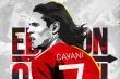 MU trao áo số 7 cho Cavani
