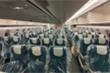 Bên trong máy bay đưa người Việt từ Guinea Xích đạo hồi hương