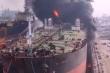 Tàu chở dầu ở Indonesia phát nổ, 22 thủy thủ bị thương, hàng chục người mắc kẹt