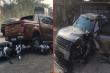 Xe Range Rover tông liên hoàn 4 ô tô và xe máy ở Hà Nội