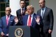 Tổng thống Trump bóng gió về tương lai thỏa thuận Mỹ-Trung