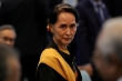 Bà Suu Kyi lần đầu xuất hiện sau khi bị quân đội Myanmar bắt giữ