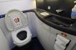 Ruột có thể sổ ra ngoài nếu xả nước khi đang ngồi bồn cầu trên máy bay?