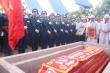Anh hùng phi công huyền thoại Nguyễn Văn Bảy yên nghỉ trên đất quê hương