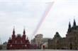 Cường kích Su-25 vẽ quốc kỳ Nga tuyệt đẹp diễn tập kỷ niệm Ngày Chiến thắng