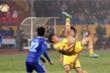 Dừng hình màn thi đấu của người hùng U23 Việt Nam trận tranh Siêu Cup Quốc gia