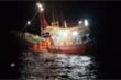 Cứu 4 ngư dân bị thương trên vùng biển giáp ranh với Indonesia