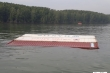 Chìm tàu hàng tải trọng 8.000 tấn trên sông Lòng Tàu, TP.HCM