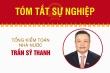 Infographic: Sự nghiệp Tổng Kiểm toán Nhà nước Trần Sỹ Thanh