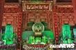 Ảnh: Ngôi đền vừa làm lễ khai quang an vị tượng Chủ tịch Hồ Chí Minh và Đại tướng Võ Nguyên Giáp