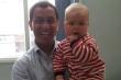 Vỡ mạch máu não, cậu bé 2 tuần tuổi thoát chết