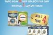 Khuyến mại sữa bột Optimum - Mua 1 tặng 4