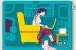 Video: Mách nhỏ tư thế ngồi trước máy tính để bảo vệ sức khỏe
