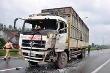 Lái xe tải say rượu gây tai nạn, 16 người bị thương