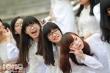 Nữ sinh trường Ams đẹp ngây ngất trong 'Ngày hội áo dài'