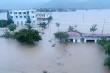 Phú Yên: Hàng nghìn ngôi nhà chìm trong biển nước sau bão số 12