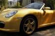 Số phận bí ẩn của Porsche Boxter mạ vàng đầu tiên trên thế giới