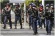 Ít nhất 10 cảnh sát Myanmar thiệt mạng