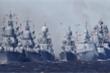 100 tàu chiến, máy bay quân sự tại lễ duyệt binh kỷ niệm thành lập Hải quân Nga