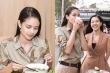 Hoa hậu Thế giới 2013 Megan Young ăn phở, uống trà đá vỉa hè khi đến Việt Nam