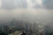 Thủ đô ô nhiễm bụi mịn ở ngưỡng xấu trong ngày đầu năm 2020