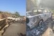 Nghi vấn thi thể trong xe bán tải cháy trơ khung là bí thư xã ở Lâm Đồng