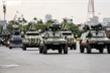 Ảnh: Hơn 6.000 người cùng xe bọc thép xuất quân bảo vệ Đại hội XIII của Đảng