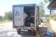 2 thanh niên chở xe tải thịt thối đổ trộm ra môi trường