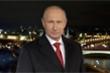 Video: Tổng thống Putin chúc mừng năm mới