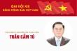 Infographic: Chủ nhiệm Ủy ban Kiểm tra Trung ương Trần Cẩm Tú