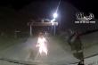 Hai thanh niên cầm dao phóng xe máy tốc độ cao tông bẹp đầu ô tô
