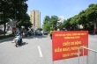Video: Hà Nội lập chốt kiểm soát COVID-19 tại các tuyến phố trung tâm