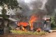 Nổ bình gas gây cháy nhà, một phụ nữ bị bỏng nặng