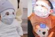 Ngộ nghĩnh hình ảnh các em bé đeo khẩu trang giữa mùa dịch Covid-19
