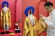 Nhà thiết kế trẻ tài năng mang áo dài mở màn show thời trang trên đất Chùa Vàng