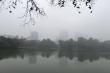 Không khí lạnh suy yếu, sương mù bao phủ Bắc Bộ