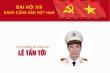 Infographic: Sự nghiệp Thứ trưởng Bộ Công an Lê Tấn Tới