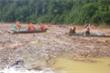 Sạt lở ở Trà Leng: Tạm dừng tìm kiếm nạn nhân mất tích trên sông