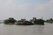 Bộ Công an triệt phá nhóm khai thác cát lậu quy mô lớn ở Bến Tre