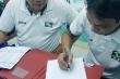 Video: Bất mãn với trọng tài, SLNA viết đơn kiến nghị sau trận thua Quảng Nam
