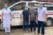 2 tài xế xe cứu thương ở Nghệ An 'trốn vợ' đi chi viện Bắc Giang