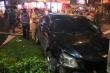 Video: Cận cảnh hiện trường ô tô Camry tông hàng loạt xe máy ở TP.HCM