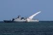 Căng thẳng với Mỹ, Trung Quốc thông báo tập trận bắn đạn thật 9 ngày trên biển