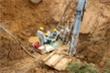 Đường ống nước sạch sông Đà lại gặp sự cố, phải ngừng cấp nước 7 tiếng