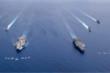 Tàu sân bay tập trận trên Biển Đông, Mỹ gửi thông điệp cứng rắn