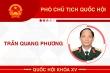 Infographic: Sự nghiệp Phó Chủ tịch Quốc hội Trần Quang Phương
